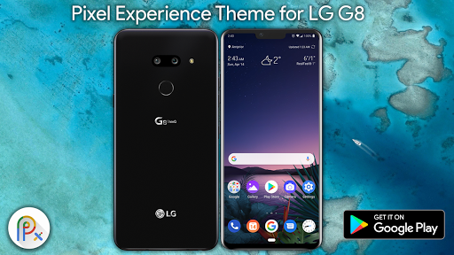 PC u7528 Pixel Experience Theme For LG G8 1