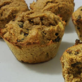 Grain-free Cinnamon Raisin Muffins.