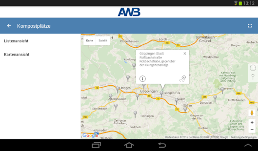 AWB Göppingen- screenshot thumbnail