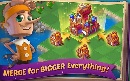 EverMerge: Merge & Build A Magical Enchanted World apkpoly screenshots 11
