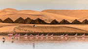 Walvis Bay, Namibia, is a popular stop on cruise itineraries around Southern Africa.