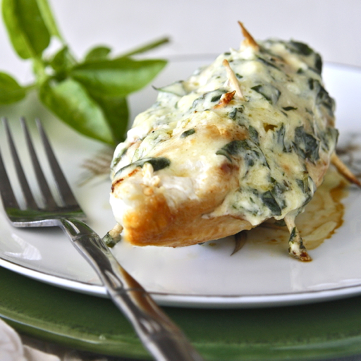 Easy Stuffed Chicken Breast with Parmesan and Basil Filling Recipe