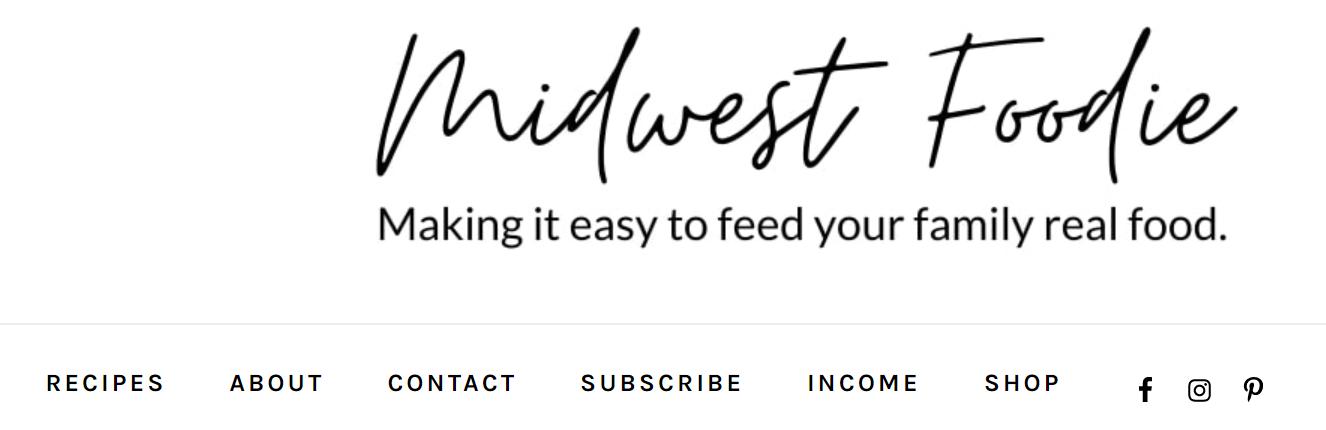 Midwest Foodie Example