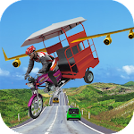 Flying Tuk Tuk Simulator 3D Icon
