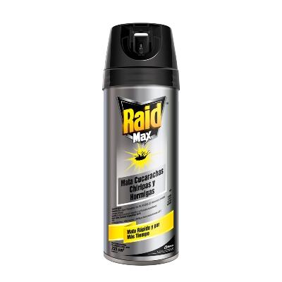 insecticida raid max aer 235ml