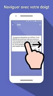 SMS Condoléances - náhled