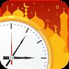 Pünktlich Gebet: Alarme, Azan und Qibla Karte.