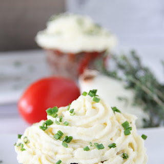 Savory Meatloaf Cupcakes.