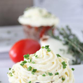 Savory Meatloaf Cupcakes.