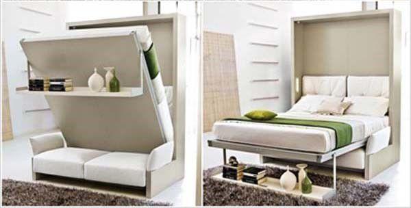 Giường ngủ thông minh giúp căn phòng rộng rãi hơn