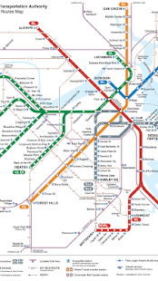 Boston Subway Map App