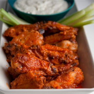 "Baked ""Buffalo"" Hot Wings."