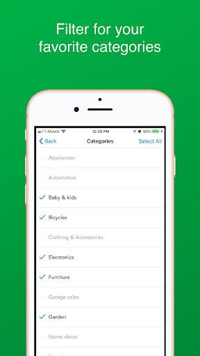 Nextdoor - Free Stuff Alerts by Freebie App Report on Mobile Action