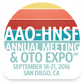 AAO-HNSF Annual Meeting 2016