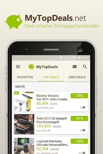 MyTopDeals - Schnäppchen App  screenshots 1