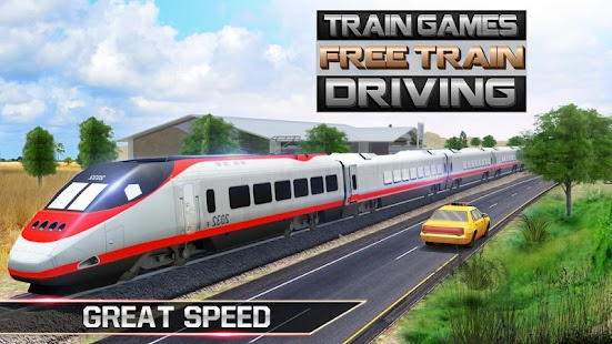 Train Games Free Train Driving - náhled