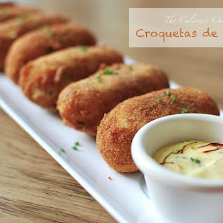 Croquetas de Chorizo.