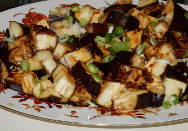 Steamed Eggplant In Garlic Sauce Recipe