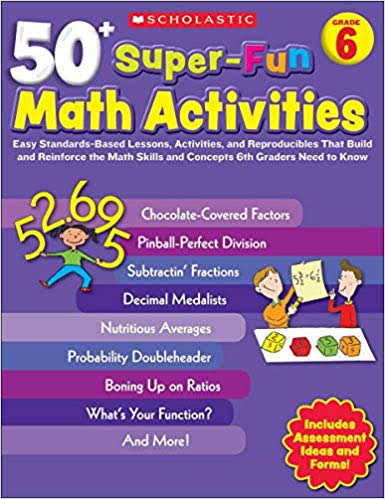 Scholastic Teaching Resources - 50+ Super-Fun Math Activities Grade