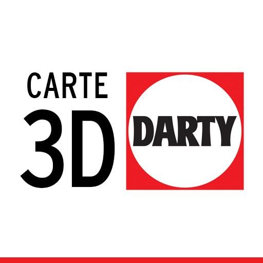 Carte 3D Darty