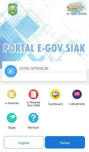 Portal e-Government Kabupaten Siak screenshots 3