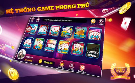 VIC - Game danh bai doi thuong Online VIP