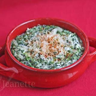 Skinny Hot Spinach Dip