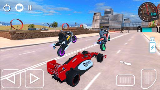 tricky bike ramps - futuristic teleport android2mod screenshots 10