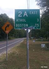 Photo: First Boston Sign