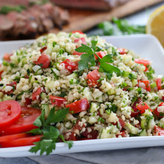 Cauliflower Tabbouleh Salad.