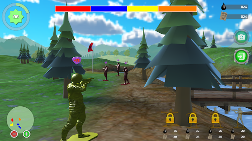 Toy Soldiers 3 APK MOD – Monnaie Illimitées (Astuce) screenshots hack proof 2