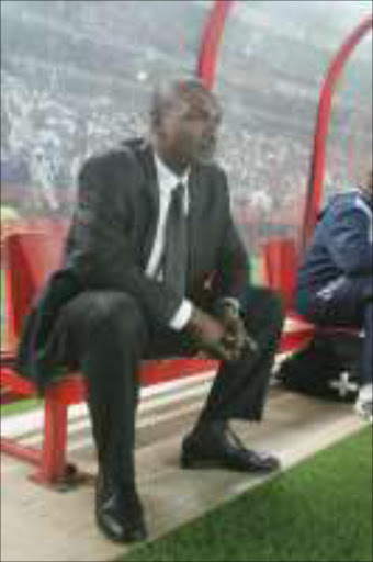 OUT: An unsmiling Bibey Mutombo. Pic. Antonio Muchave. 19/01/07. © Sowetan.