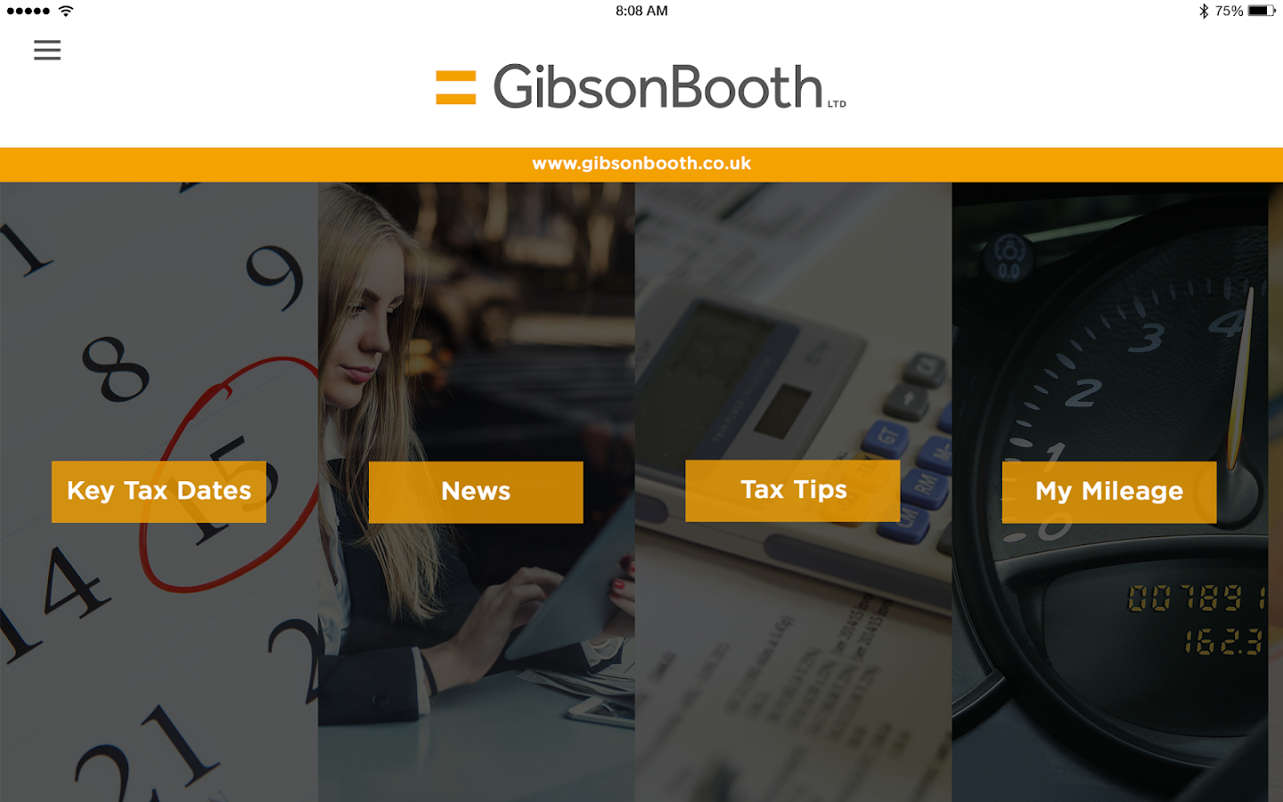 Gibson Booth- screenshot
