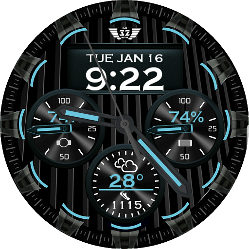APOLLO ONE Watchface for WatchMaker