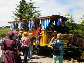 Photo: Pferdeeisenbahn, Kerschbaum