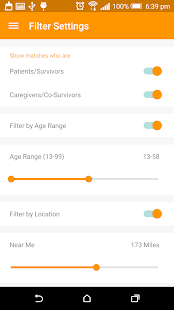 Instapeer:Cancer Peer Matching- screenshot thumbnail