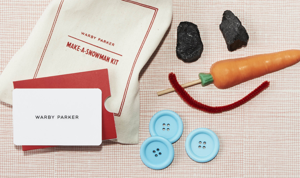 Warby Parker - Snowman Promo - DTC Growth