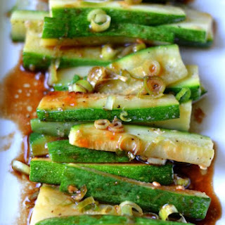Asian Zucchini Recipes.