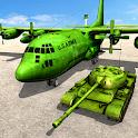 Army Tank Transport Plane Sim icon