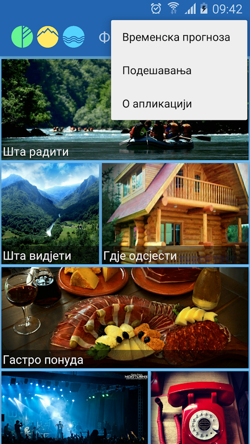 FOČA travel guide- screenshot
