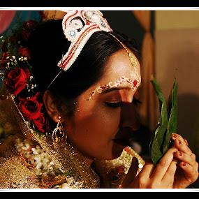Subha Dristi by Ratul Das - Wedding Bride ( indian marriage, bride, marriage, ceremony )