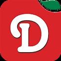Delicio Recipes & ShoppingList icon