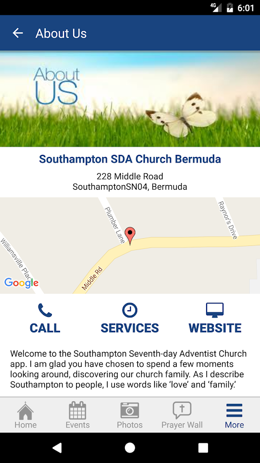 Southampton Church Bermuda- screenshot