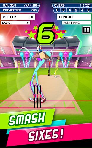 Stick Cricket Super League- screenshot thumbnail