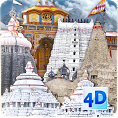 4D Char Dham Live Wallpaper