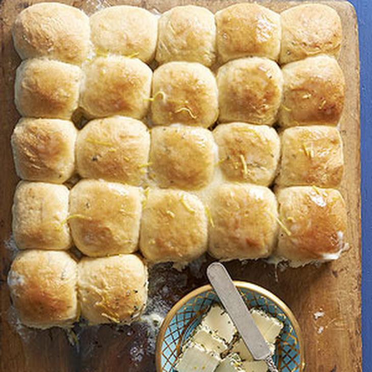 Lemon Rosemary Potato Rolls Recipe | Yummly