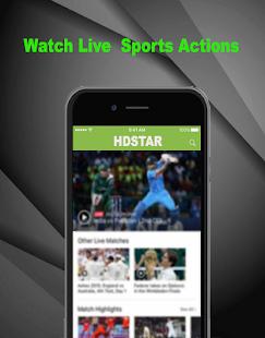 HDStar Tv:Hot Football TV guide Cricket TV - náhled