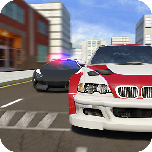 Crime City Cops Car Chase Game