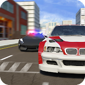 Undercover Police Chase Car 3D