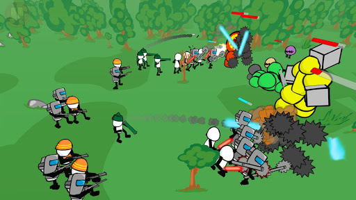 Stickman gun battle simulateur  captures d'écran 5